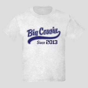 Big Cousin Since 2013 Kids Light T-Shirt