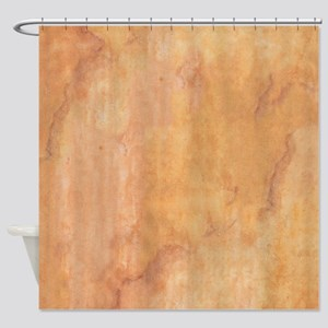 Patina in Browns Shower Curtain