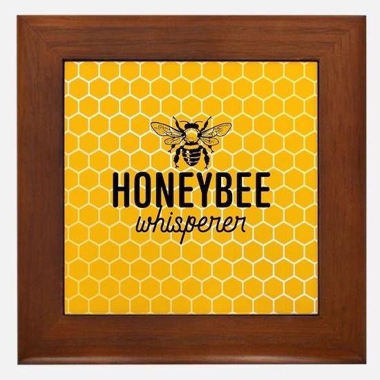 Honeybee Whisperer Framed Tile