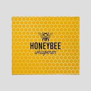 Honeybee Whisperer Throw Blanket