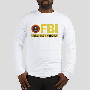 FBI Federal Bureau of Investigation Long Sleeve T-