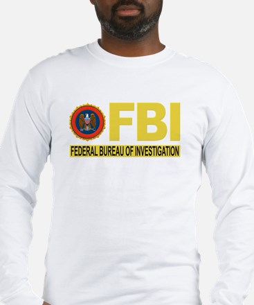 FBI Federal Bureau of Investigation Long Sleeve T-