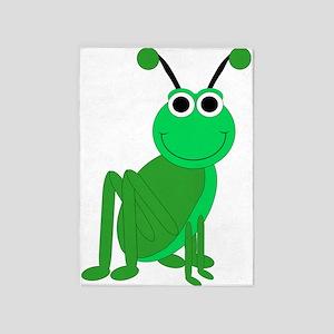 Grasshopper 5'x7'Area Rug
