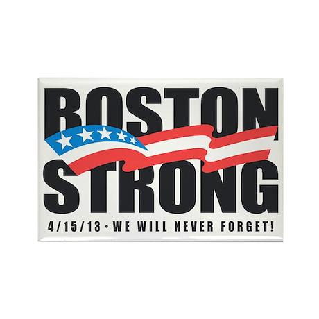 Boston Strong Rectangle Magnet