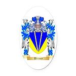 Briney Oval Car Magnet