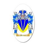 Briney 35x21 Oval Wall Decal