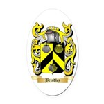 Brindley Oval Car Magnet
