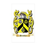 Brindley Sticker (Rectangle 10 pk)