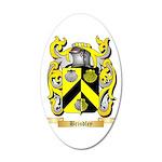 Brindley 20x12 Oval Wall Decal