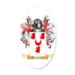 Brinckman Oval Car Magnet