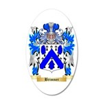 Brimner 35x21 Oval Wall Decal