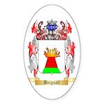 Brignall Sticker (Oval 50 pk)