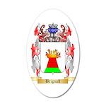 Brignall 35x21 Oval Wall Decal