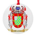 Brighton Round Ornament