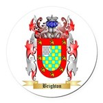 Brighton Round Car Magnet