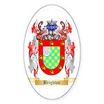 Brighton Sticker (Oval 10 pk)