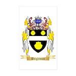 Brightman Sticker (Rectangle 50 pk)