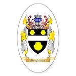 Brightman Sticker (Oval 50 pk)