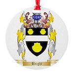 Bright Round Ornament