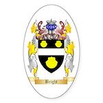 Bright Sticker (Oval)