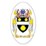 Bright Sticker (Oval 50 pk)