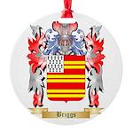 Briggs Round Ornament