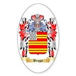 Briggs Sticker (Oval 50 pk)
