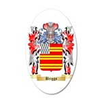 Briggs 35x21 Oval Wall Decal
