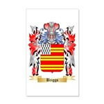 Briggs 20x12 Wall Decal