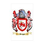 Briggs (London) Sticker (Rectangle 50 pk)