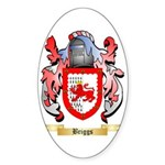 Briggs (London) Sticker (Oval 50 pk)