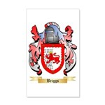 Briggs (London) 20x12 Wall Decal