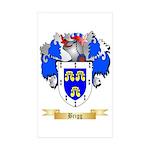 Brigg Sticker (Rectangle 10 pk)