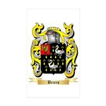 Briers Sticker (Rectangle 50 pk)