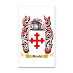 Brierly Rectangle Car Magnet