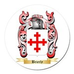 Brierly Round Car Magnet