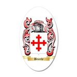 Brierly 20x12 Oval Wall Decal