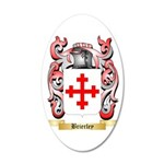 Brierley 35x21 Oval Wall Decal