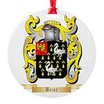 Brier Round Ornament
