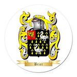 Brier Round Car Magnet