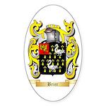 Brier Sticker (Oval 50 pk)