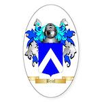 Briel Sticker (Oval 50 pk)