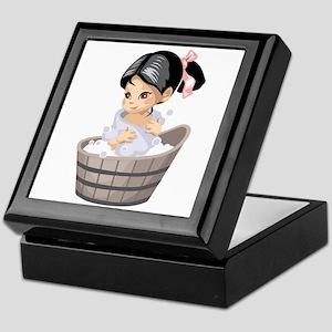 Bathing Beauty Keepsake Box