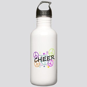 Cheer Peace Sign Stainless Water Bottle 1.0L