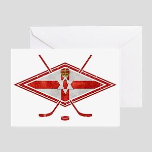 Northern Ireland Ice Hockey Greeting Card