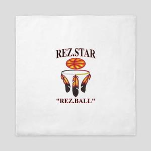 """REZ.STAR """"REZ.BALL"""" Queen Duvet"""
