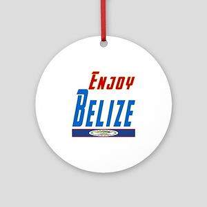 Belize Designs Ornament (Round)