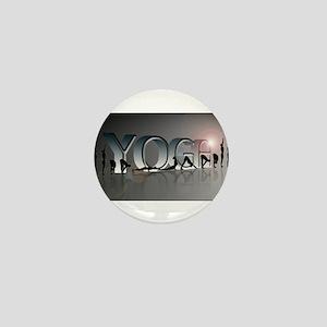 YOGA Bold Mini Button