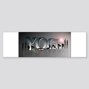YOGA Bold Bumper Sticker