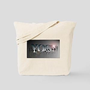 YOGA Bold Tote Bag